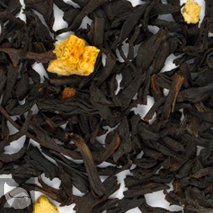 Orange and Spice Flavored Black Tea